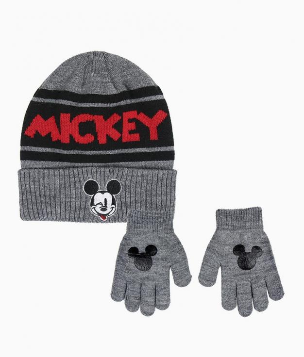 Gorro y Guantes Mickey