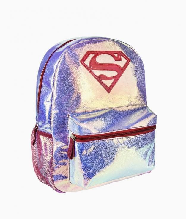 Mochila Casual Superman - Iridiscente