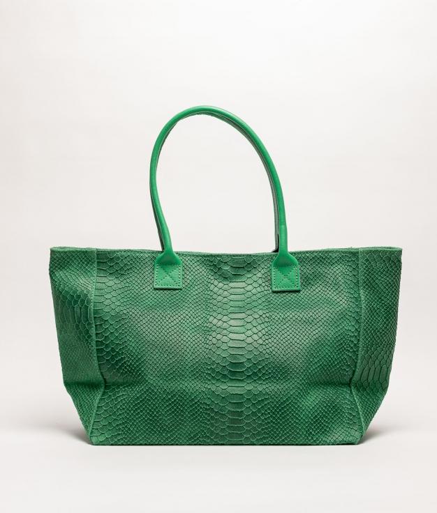 Bolso de piel Adan - verde