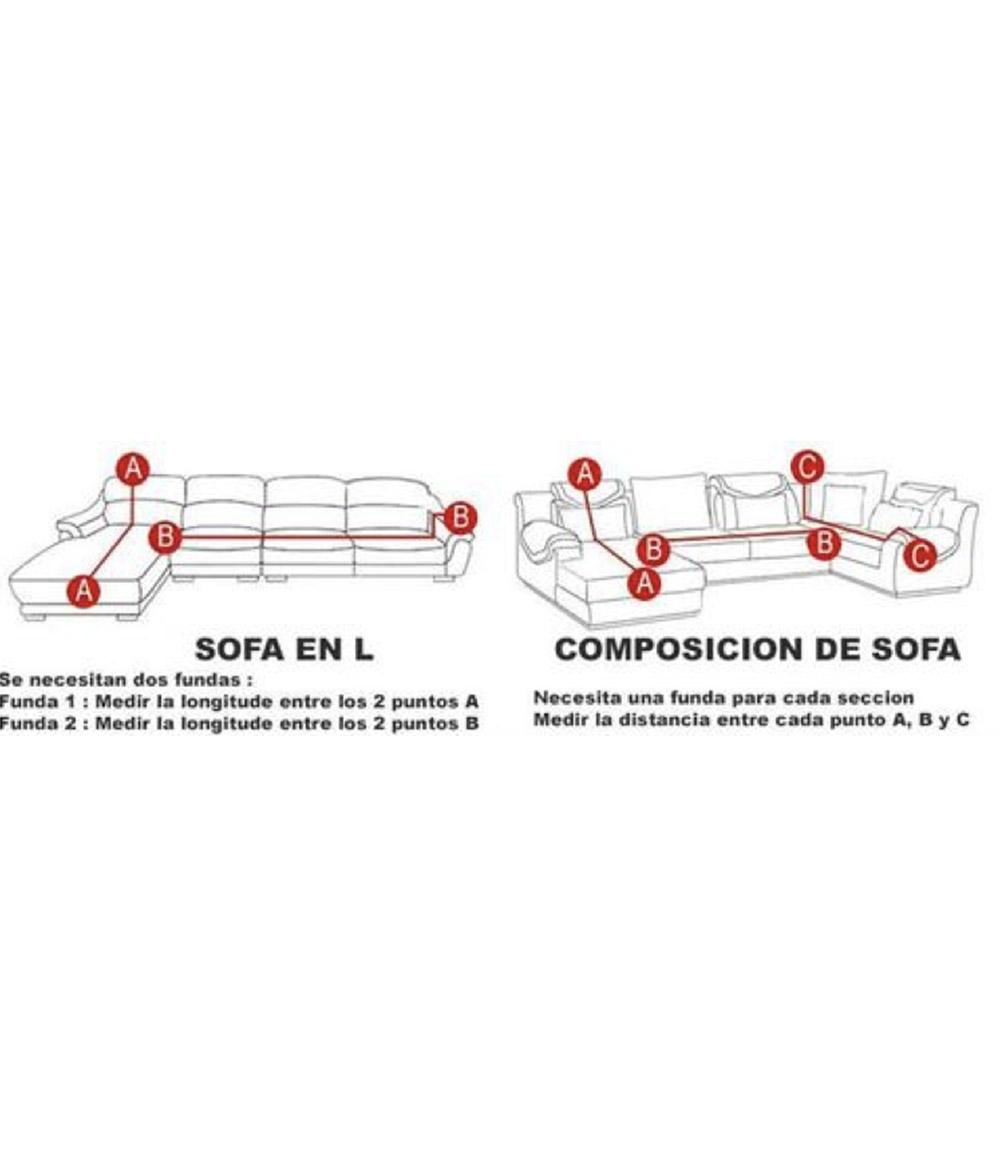 Funda Sofá Bioelástica 4 Plaza - Beige