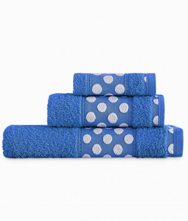 Juego de 3 Toallas - Azul Klein