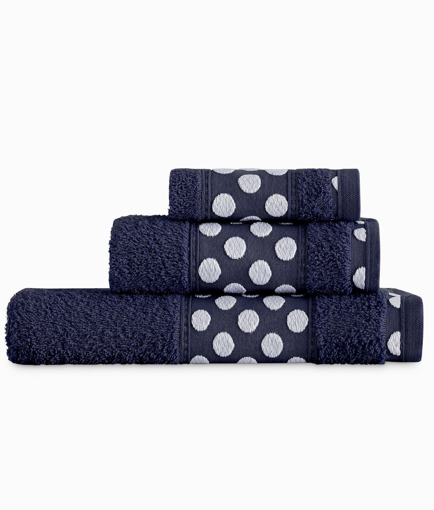 Juego de 3 Toallas - Azul Marino