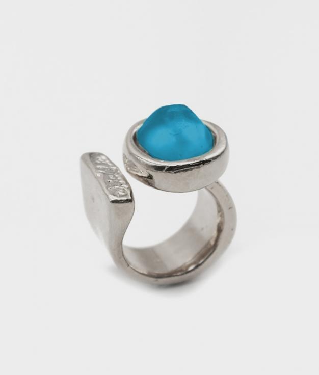 REIKI ring - blue