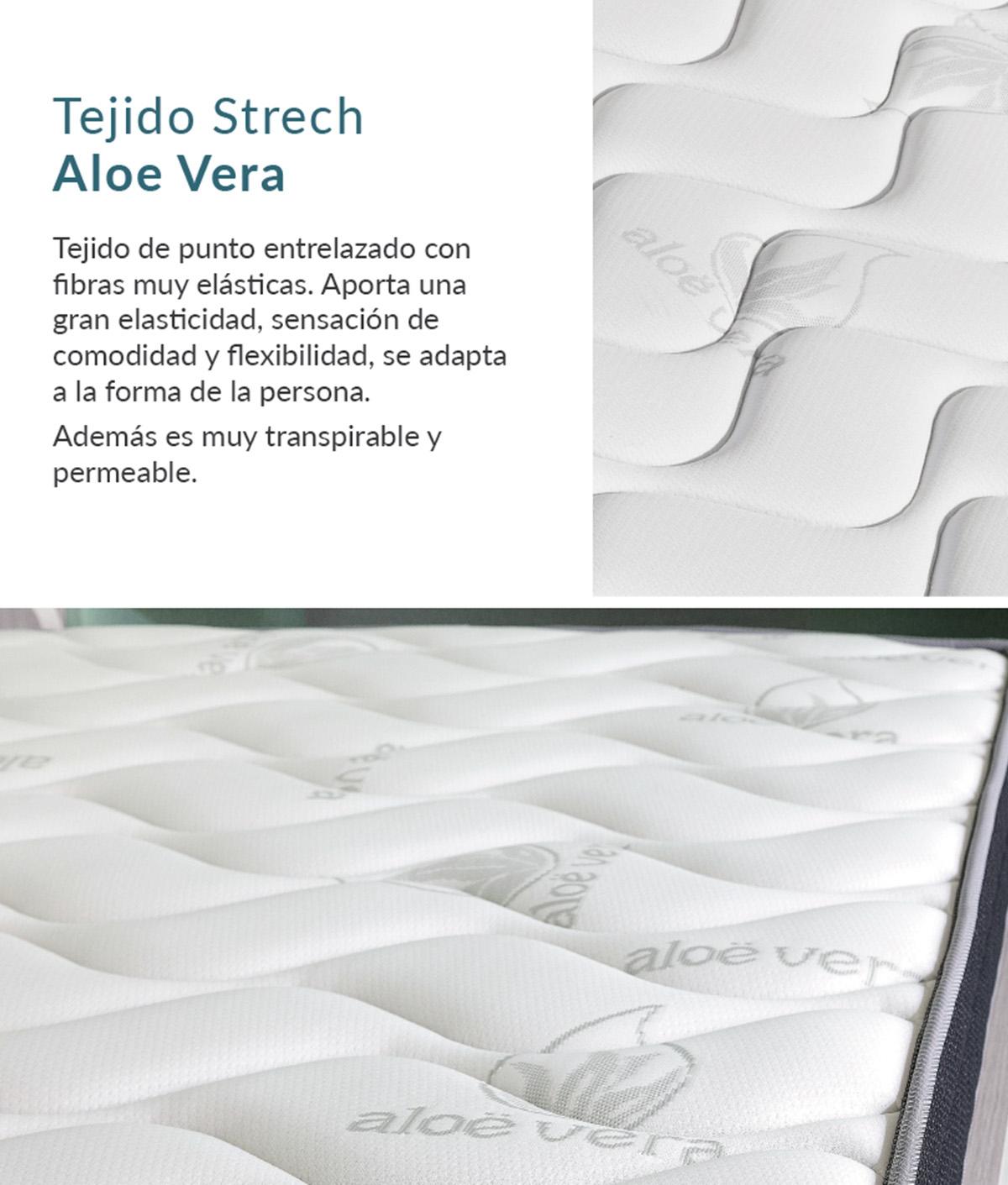 COLCHÓN VISCO MULHACÉN H15 CAMA NIDO - 200