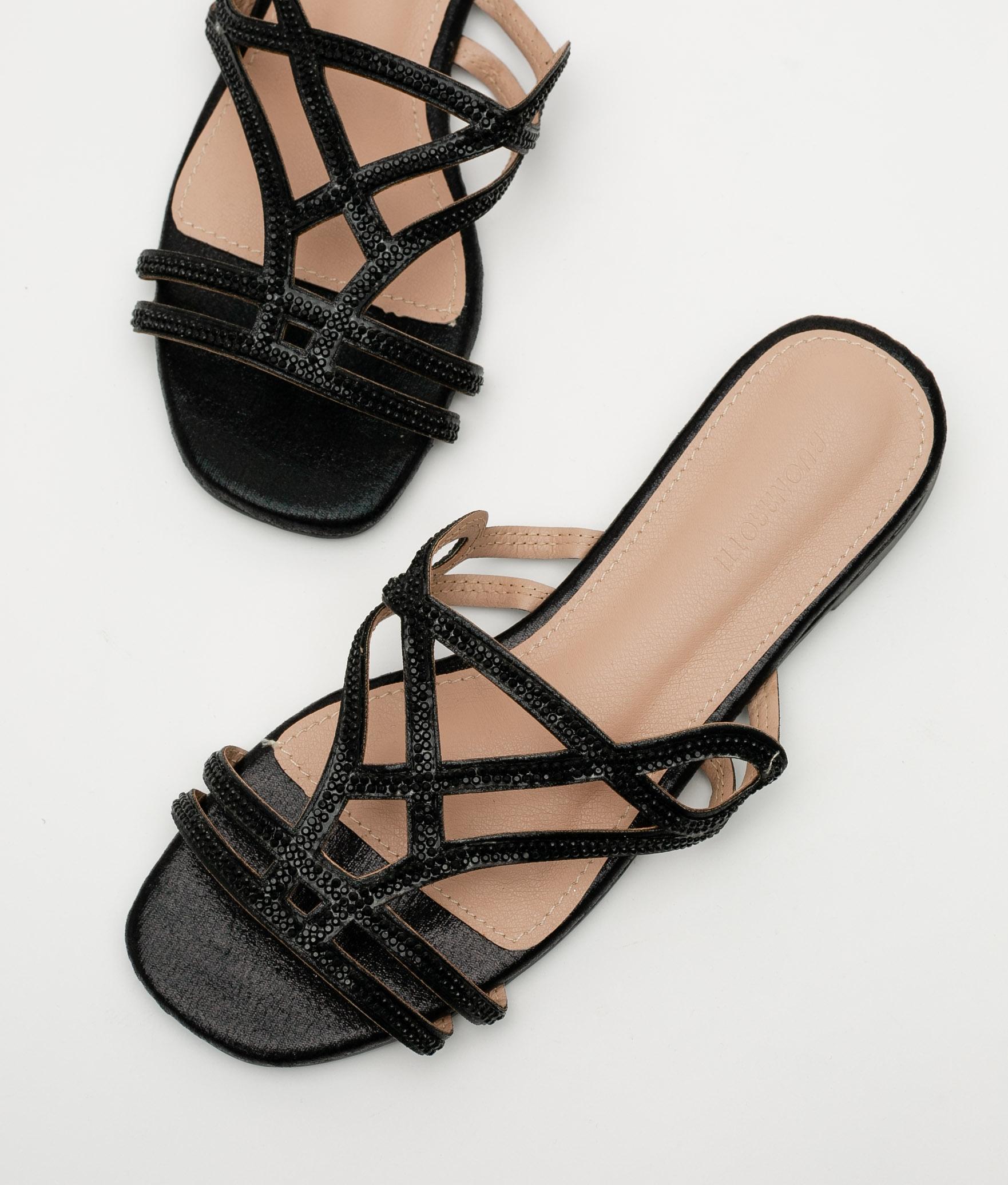 MALINAS SANDAL - BLACK