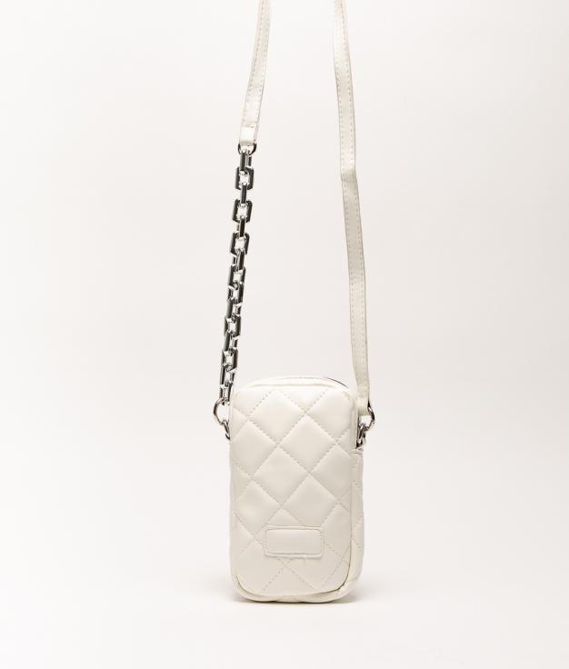 Wallet Mobile Holder Dariela - White