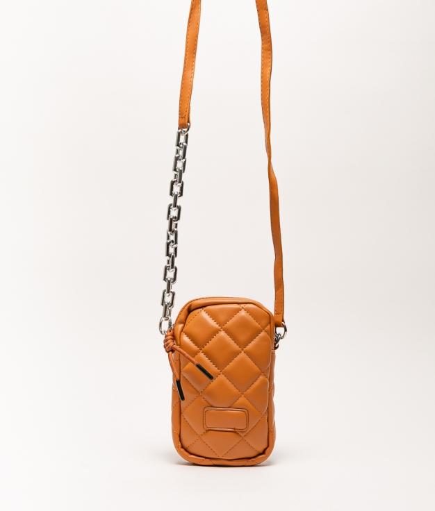 Wallet Mobile Holder Dariela - Brown