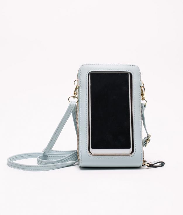 mobile phone holder tey - light blue