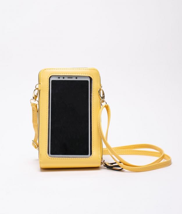 mobile holder tey - yellow