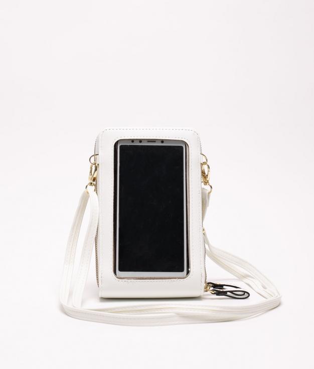 suporte para celular - branco