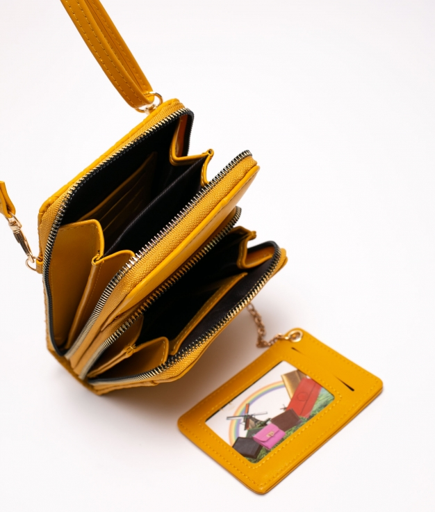 yesey phone holder - mustard