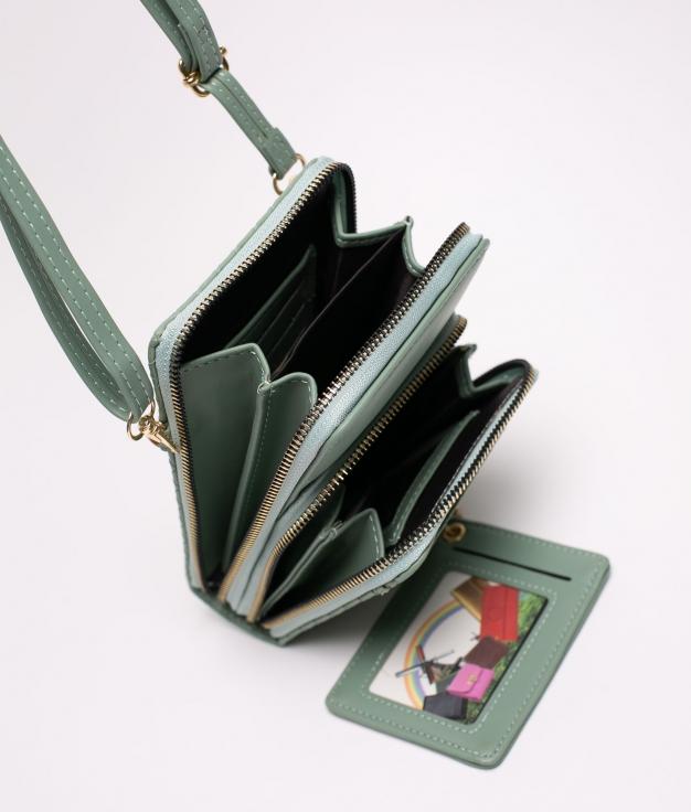 yesey phone holder - green