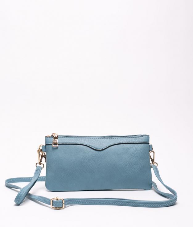 chef shoulder bag - light blue