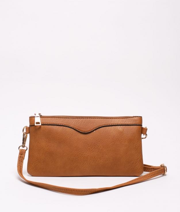 chef shoulder bag - leather