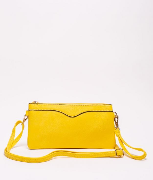 chef shoulder bag - yellow