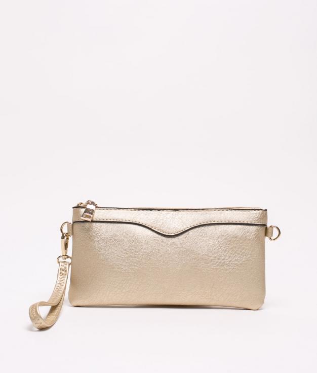 chef shoulder bag - gold