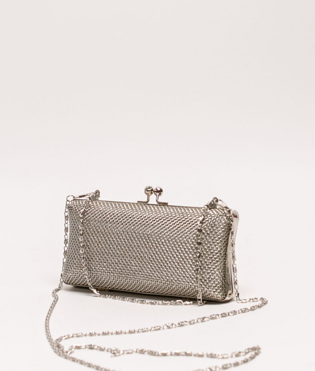 mer tote bag - silver