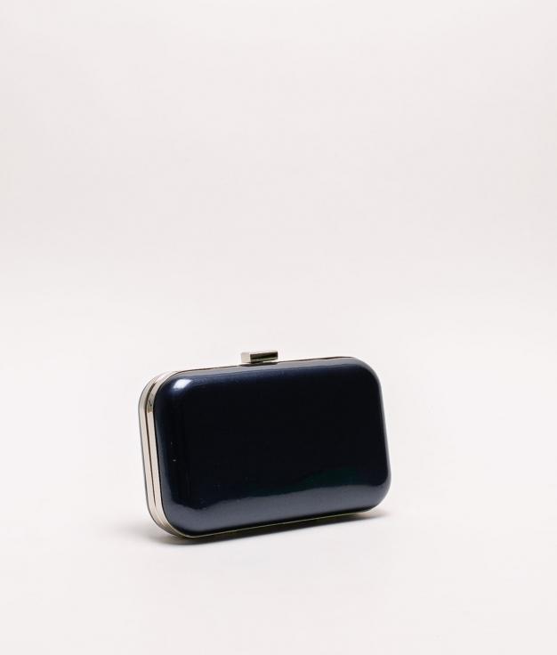 indar handbag - navy blue