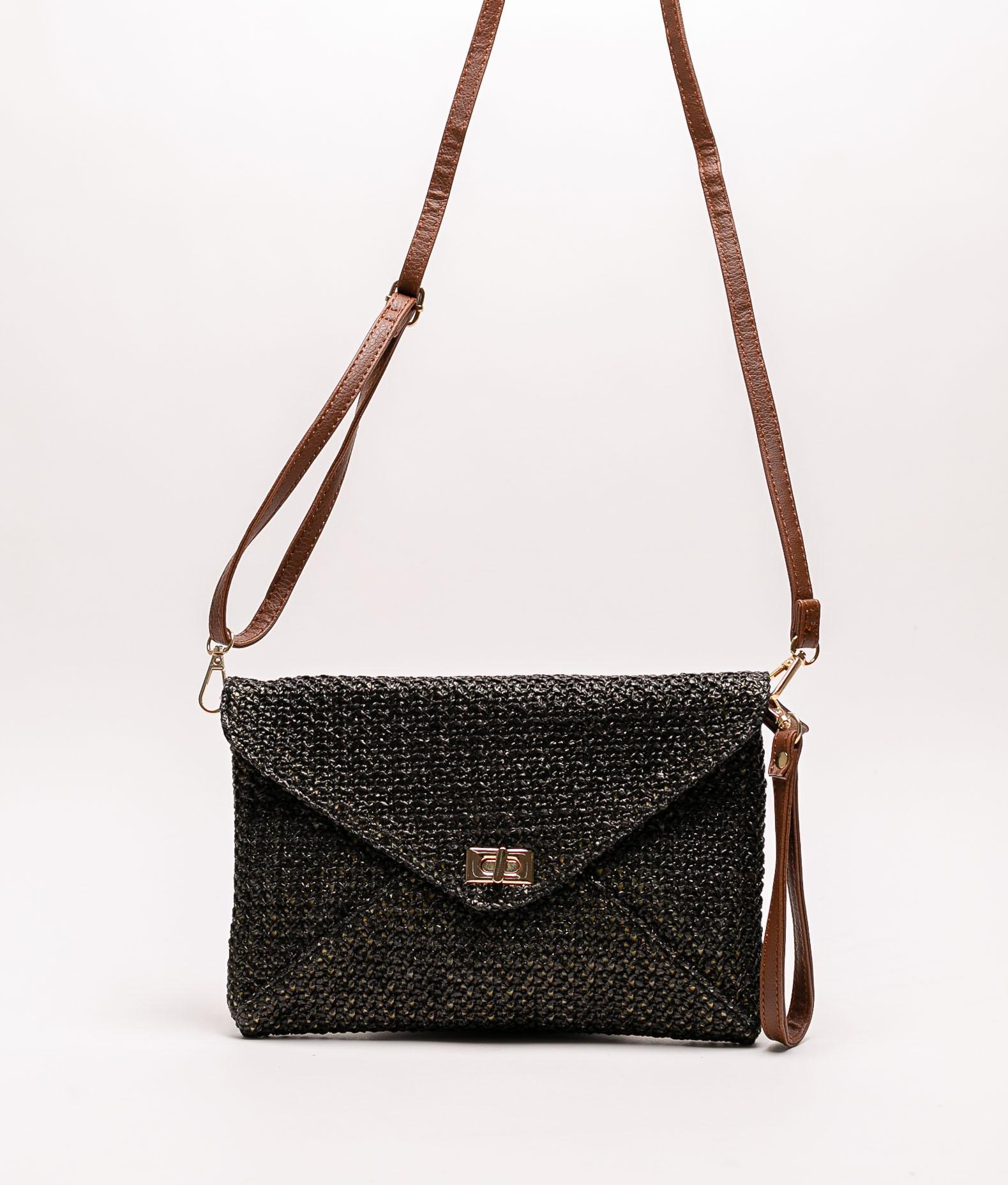 Flex shoulder bag - black