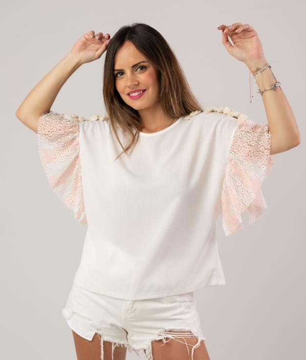 CAMICIA GALANDE - ROSA
