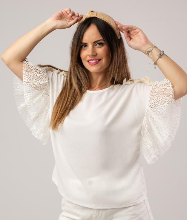 CAMICIA GALANDE - BIANCO