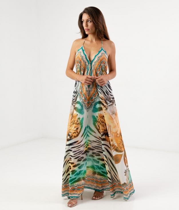 Vestido Zenca - Senape
