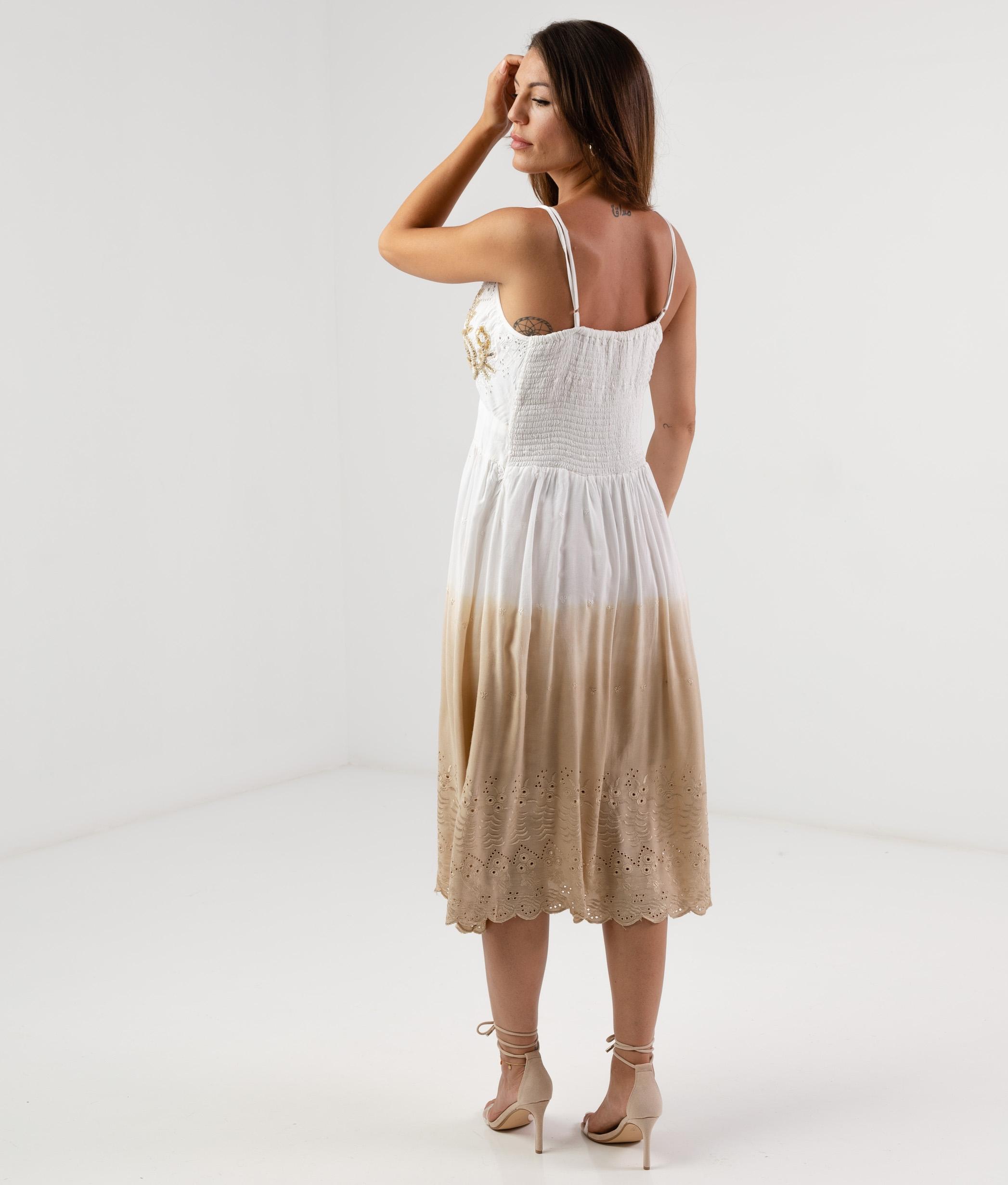 TERBRE DRESS - CAMEL