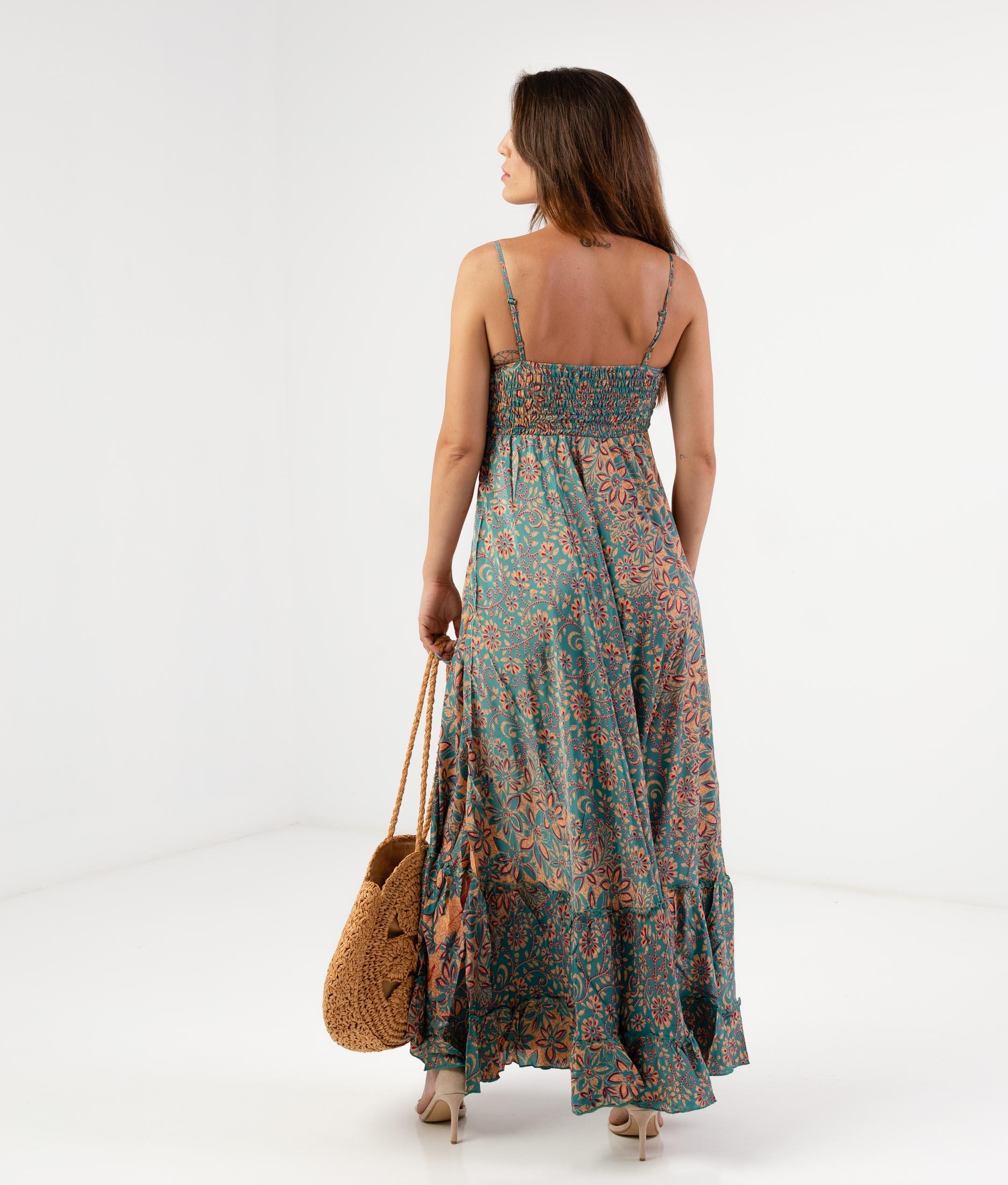 PIRASO DRESS - BLUE