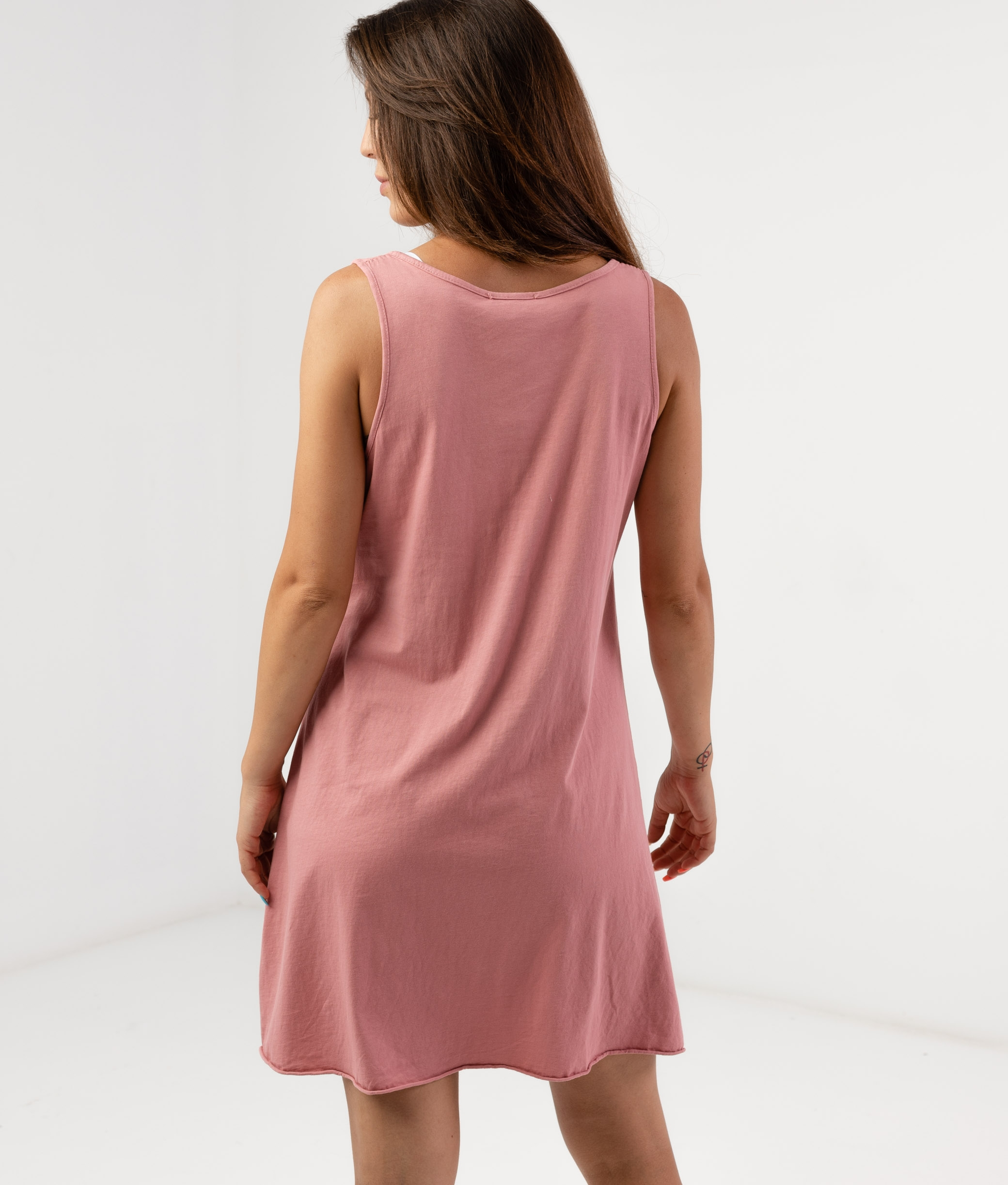 MENDRE DRESS - PINK