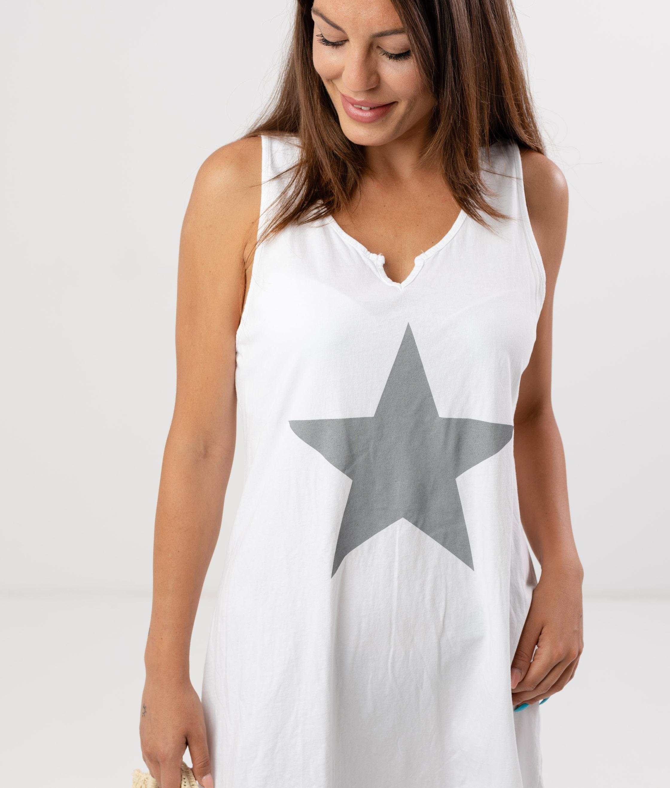 MENDRE DRESS - WHITE