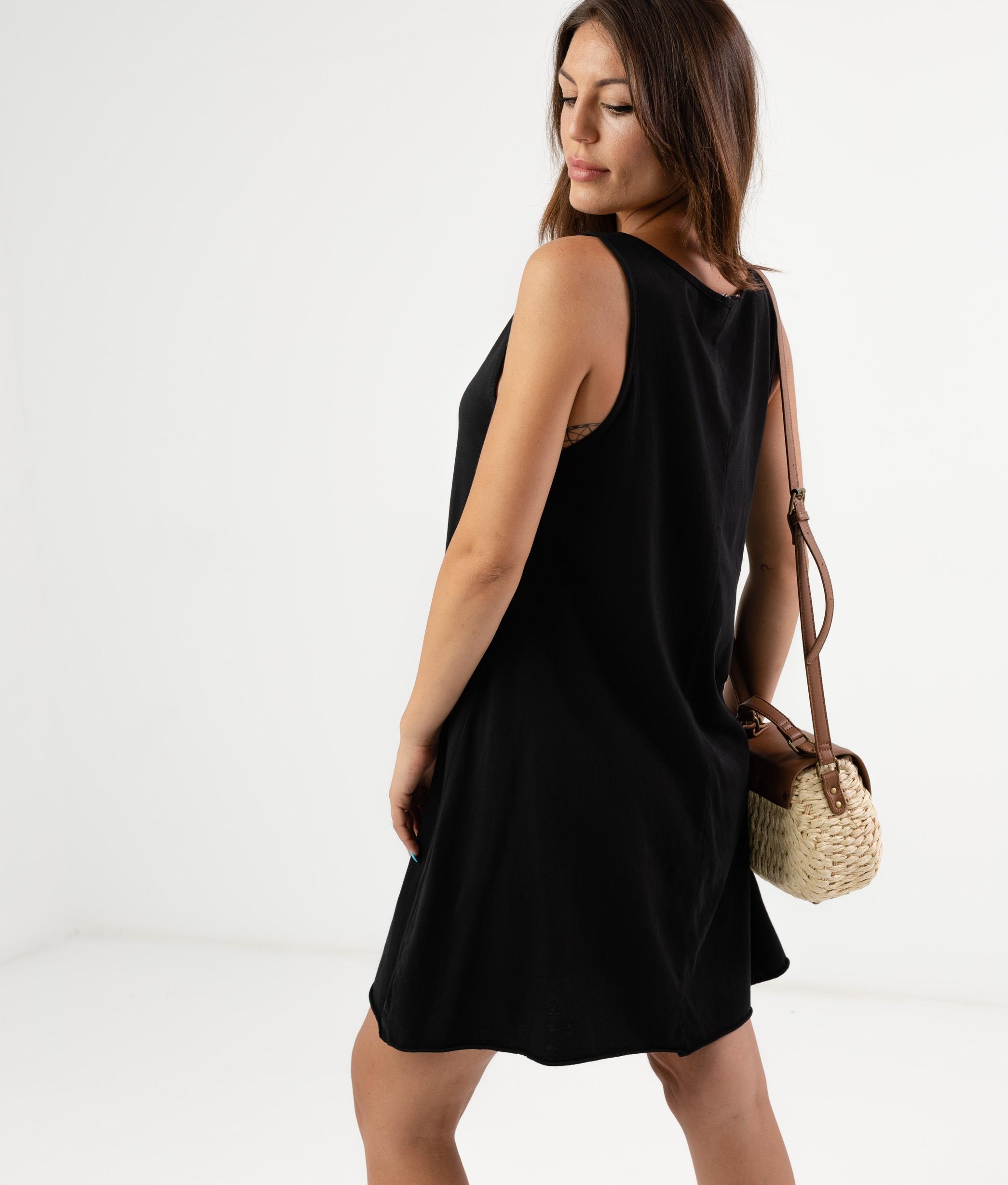 MENDRE DRESS - BLACK