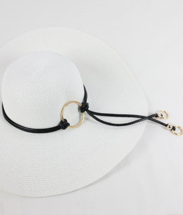 Chapeau GLITY - BLANC