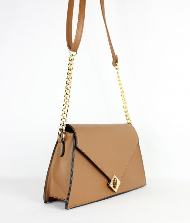 bolso llana - marrón