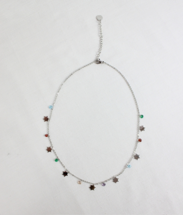 COLLIER HUPA - ARGENT