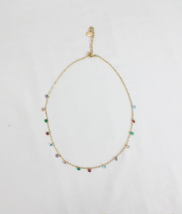 NECKLACE DULY - GOLDEN
