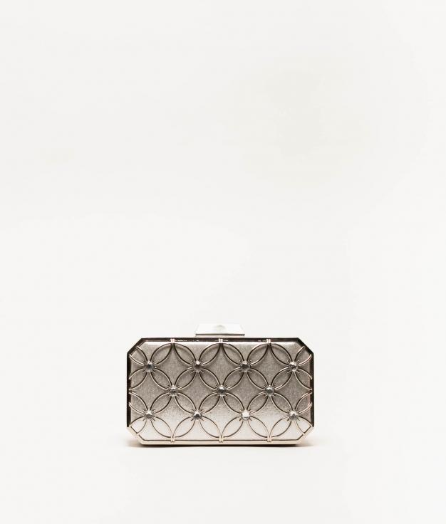 shakira handbag - silver