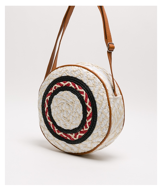 rendo shoulder bag - white