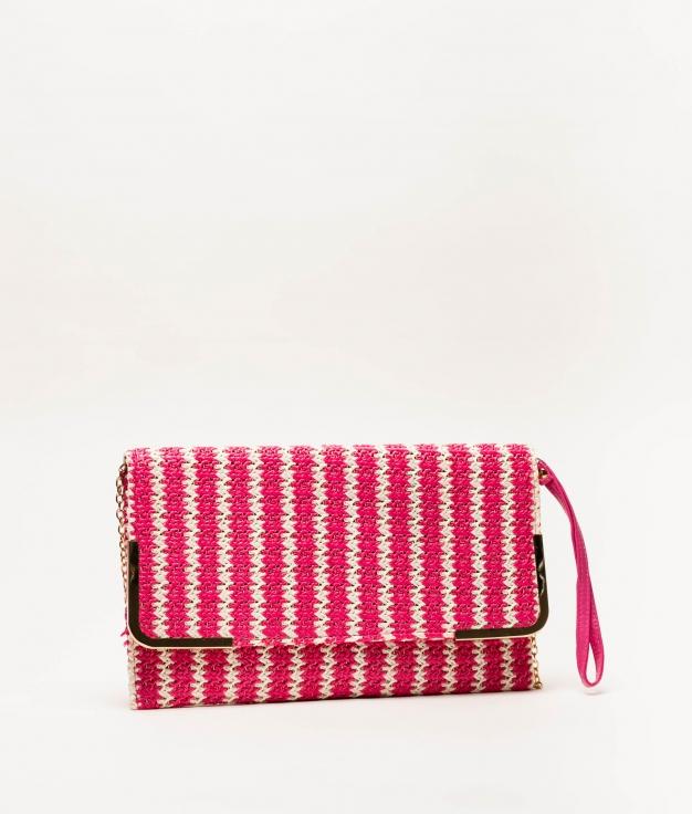 logi handbag - fuchsia