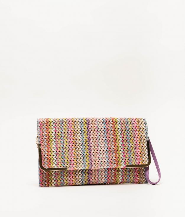 logi handbag - lilac