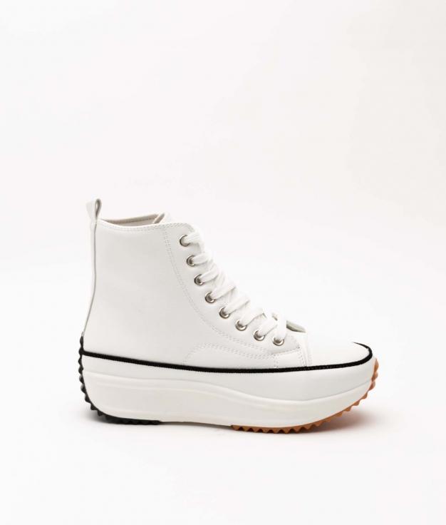Sneakers Konder Polipiel - Bianco