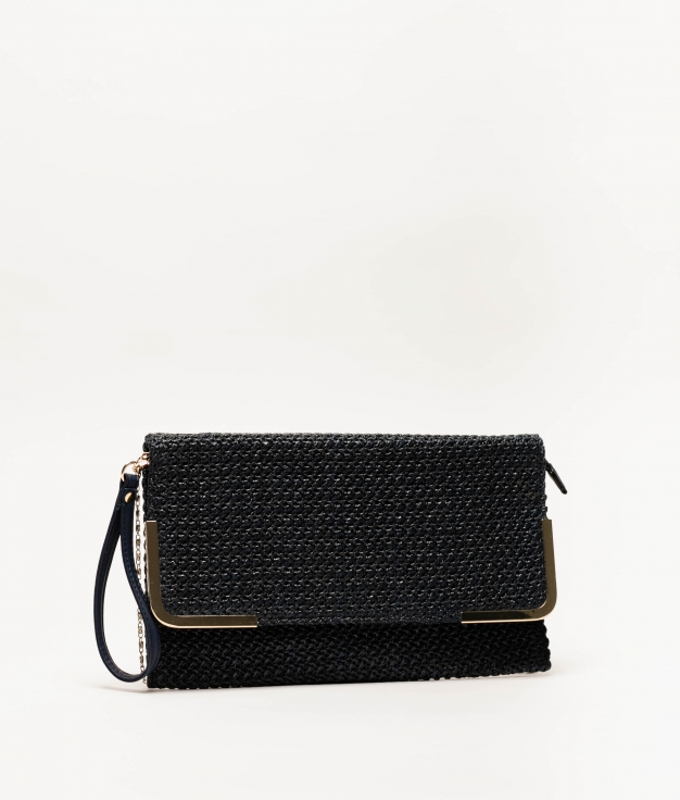 logi handbag - NAVY BLUE