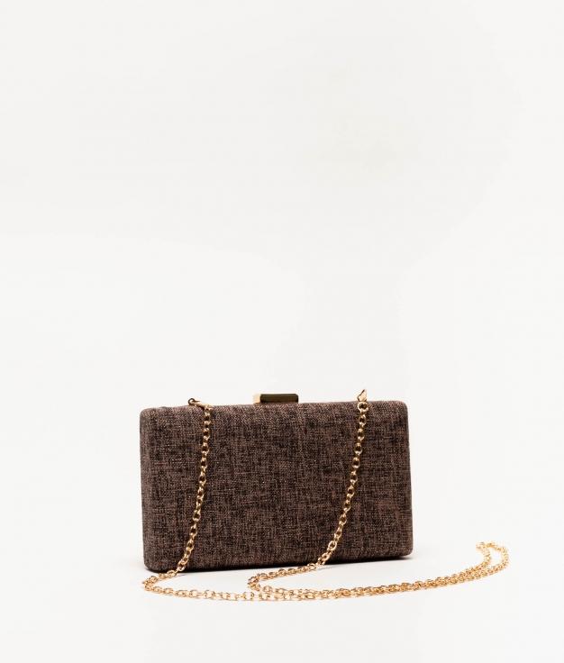 kisse handbag - coffee