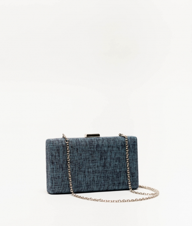 bolso de mano kisse - azul
