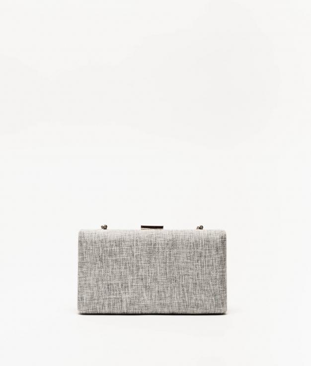 sac à main kisse - gris