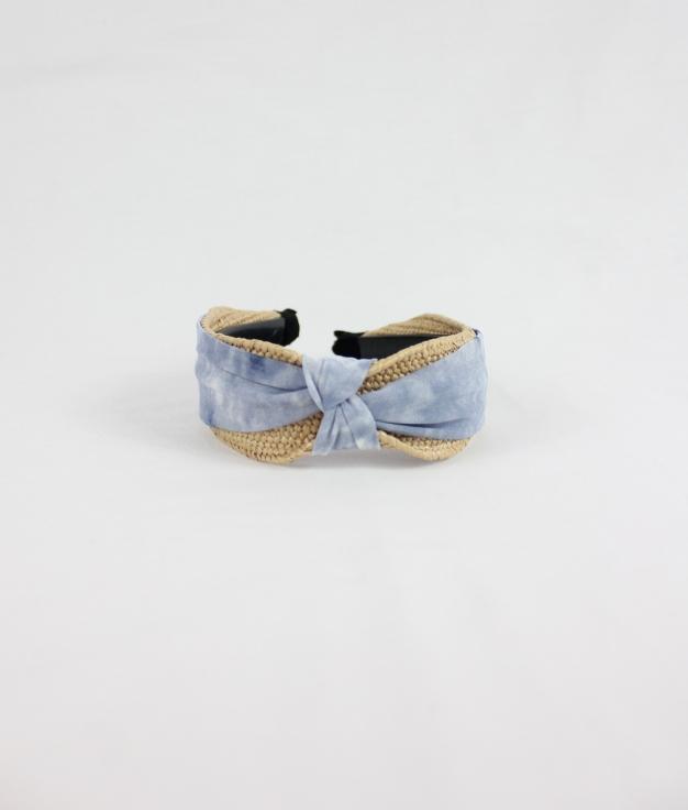 Diadem LULU - CINNAMON/BLUE