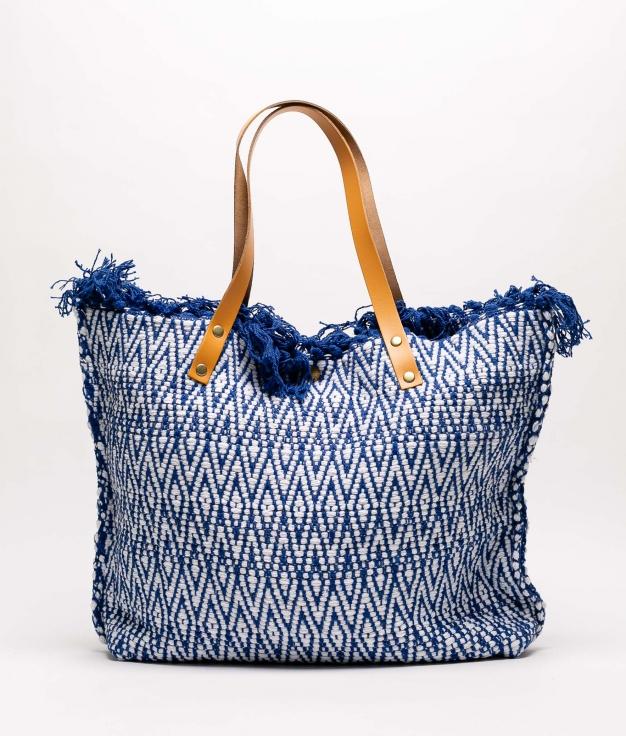 NAIALA COTTONE BAG - BLUE