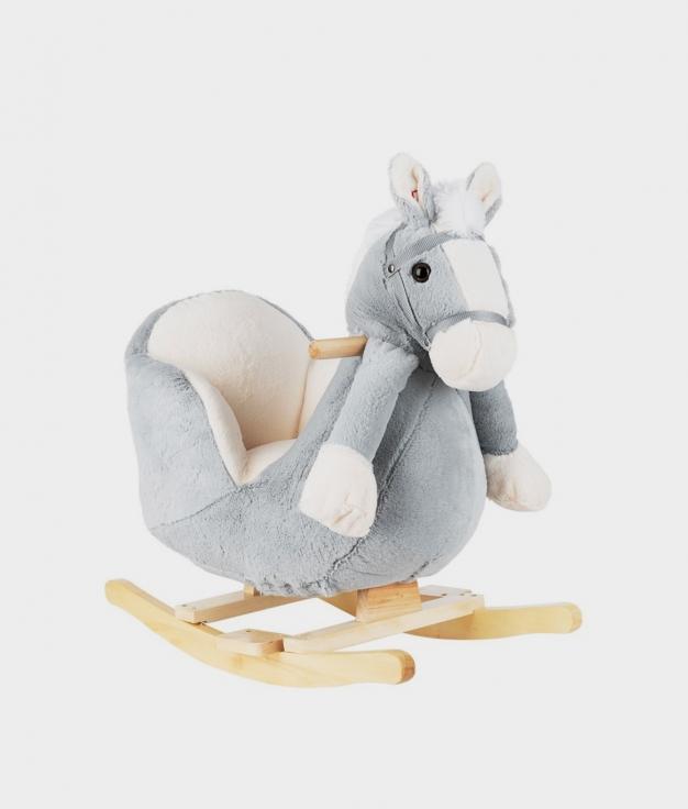 BALANCÍN CON MÚSICA HORSE - GRIS