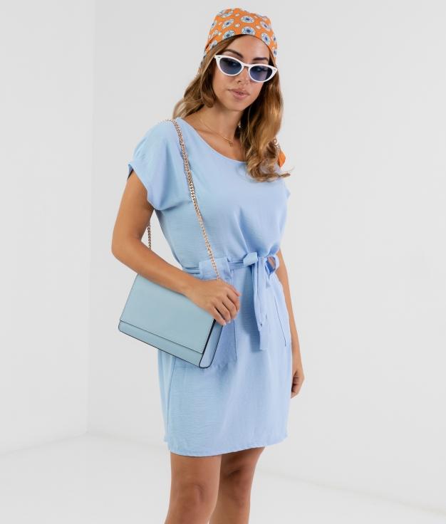 Vestido Tremer - Bleu