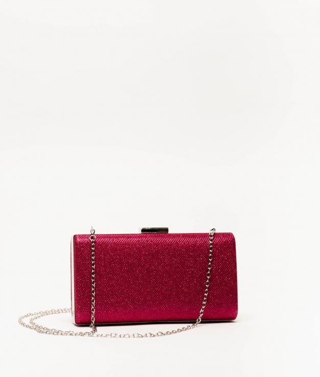 ring handbag - fuchsia