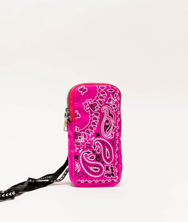 Wallet Mobile Holder Aimaraes - Fucsia